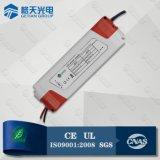 La corriente constante 12W que amortigua el programa piloto del LED para el LED abajo se enciende