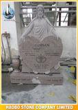 Disegno del cuore del doppio del Headstone del granito