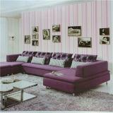 Bello PVC Wallpaper di Laminate Pink della camera da letto di Best Price