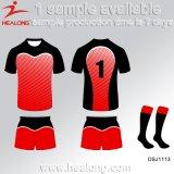Rugbi modificado para requisitos particulares la última ropa de deportes Jersey de la sublimación del diseño de Healong