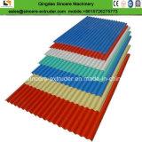 Linha de produção ondulada trapezoidalmente Multi-Layer da extrusão da folha de PVC/PC