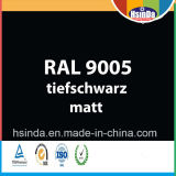 Enduit de poudre noire de gicleur de Ral 9005 de couleur de Ral de qualité
