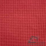 30d 290t 물 & 바람 저항하는 아래로 재킷에 의하여 길쌈되는 두 배 줄무늬 격자 무늬 자카드 직물 폴리에스테 폴리아미드 합성 필라멘트 직물 (X013)