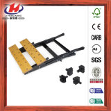 家具は積層の木板の仕事台の工作台を切り分ける