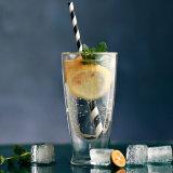 Tazza doppia di vetro della spremuta di Pyrex della tazza della spremuta di vetro Tempered del latte