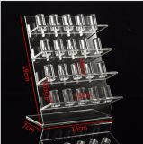 Primero el fabricante directo modifica la visualización de acrílico del anillo para requisitos particulares, estante de visualización