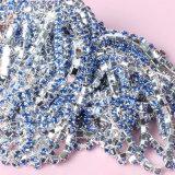 Fermer Rhinestone Crystal Diamond fraisage de la chaîne de la Coupe du Placage Or Strass Chaîne Chaîne de coupe
