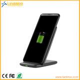 Carrinho sem fio rápido do carregador para telefones de pilha do iPhone 8/X de Samsung/Apple