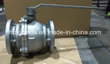 JIS 10K Válvula de Esfera de Ferro Fundido Furo Completo Flutuante