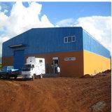Bajo coste de almacén de la estructura de acero de dos pisos
