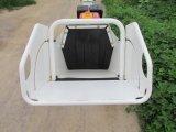 Hoja que introduce manual móvil industrial de la alta calidad burilador/desfibradora/Mulcher de madera