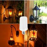 Ampoule de clignotement de flamme des lampes 5W DEL d'effet d'incendie pour la maison de salle de séjour décorative