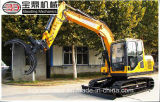 サトウキビかわらまたはサトウキビつかむための保定Bd80のクローラー掘削機