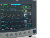 Monitor de Paciente Multi-Parameter con 8 pulgadas de pantalla TFT a color
