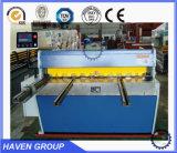 Hohe Präzisions-hydraulische Guillotine-scherende Maschine