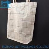 卸売100%の有機性キャンバスのハンドメイドの綿の戦闘状況表示板のショッピング・バッグ
