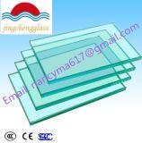 La qualité 6.38 millimètres effacent le verre feuilleté de sûreté pour le guichet/porte/frontière de sécurité