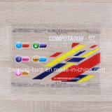 Tranparent 레이블 공간 스티커를 인쇄하는 색깔은 레이블 Removeable 스티커를 벗긴다