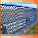Покрынная PVC расширенная сетка металла
