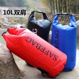 Outdoor Sports 30L PVC Waterproof Barrel Backpack Dry Bag (YKY7206)