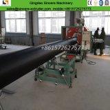 PE espiral de plástico de pared sólida de extrusión de tubo de chaqueta de la producción de la máquina