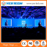 Schermo di visualizzazione curvo creativo del LED di colore completo P3.9