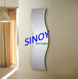 Size e Shape differenti Aluminium Mirror Glass Sheet