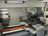 Tubo metálico de rosca CNC horizontal torno mecânico (QK1313)