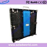 P7.8 programables de la publicidad exterior/interior Color Electrónica de coches Die-Cast Pantalla LED Paneles de pared de la Junta para la etapa