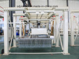 Maquinaria automática do tijolo da argila da máquina de fatura de tijolo da argila vermelha