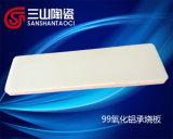 Piastrina a prova di proiettile del Sinterizzare-Cuscinetto della ceramica del mattone dell'allumina di 99% (SSTC0038)