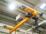 ヨーロッパ式の電気単一のガードの天井クレーン