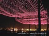Vacaciones de LED de colorida decoración navideña de iluminación de la cadena al aire libre