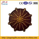 Distintivo promozionale del metallo del ricordo del sole 2018