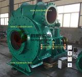 Pompe de dragage ISO9001 de boue de gravier de Hrizontal d'exploitation certifiée