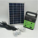 LEDの球根を満たすホーム太陽電池パネルエネルギーキットの照明装置USB