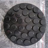 ピンチ溶接スロットはトロリージャックのツールのためのゴムパッドを取付ける
