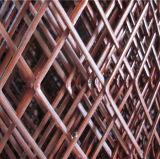 拡大されたステンレス鋼の金網