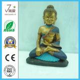 Polyresin仏の宗教の置物の仏の彫像