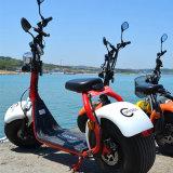 Nieuwste 60V/12ah 1000W Harley Citycoco 2 de Elektrische Autoped van het Wiel met EEG- Certificaat
