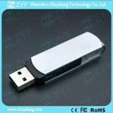 Unidad flash USB giratorio de metal con el logotipo (ZYF1172)