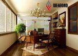 Ideabond a développé le panneau composé en aluminium s'arrêtant d'installation