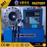 China freio automático de equipamento de fábrica a mangueira de alimentação da máquina de crimpagem Finn