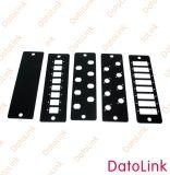 FC Plaat van de Adapter van de vezel Optische 6 Gaten
