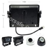 """7 """" Systeem van de Camera van de Mening van de Auto van de Monitor van de Mening van de Vierling het Achter"""