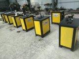 Dobladora de acero plana del hierro labrado de 380 voltajes