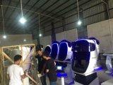 Simulador elevado do cinema da definição 9d Vr do projeto fresco da forma do robô, cadeira de Owatch 9d Vr com assentos dobro
