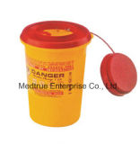 Sale caldo 0.7L Medical Disposable Sharp Container Box Waste Container (MT18086101)