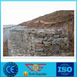 La Jaula de rock, el muro de contención Gabion Cesta de alambre galvanizado, Cesta Gabion