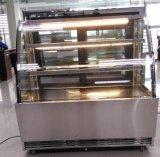 Estilo Europeo Pastelería De Vidrio Pastel Y Cake Gabinete